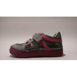 D.D.Step 040-421D szürke pink lány átmeneti cipő