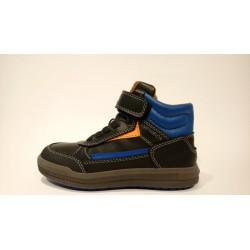 Geox J845SA-000BC lélegző bőr TEX es vízálló átmeneti cipő