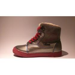 D.D.Step 040-428B szürke pink téli bélelt lány cipő