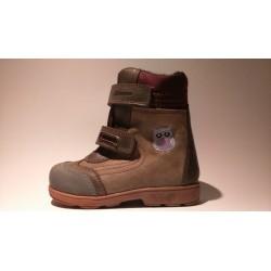 Szamos 1441-47749 TEX-es supinált szürke téli bélelt cipő