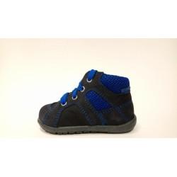 Richter Siesta 0021-541-7201 kék fűzős elsőlépés átmeneti cipő