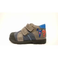 Szamos 1470-10709 supinált kék szürke átmeneti cipő