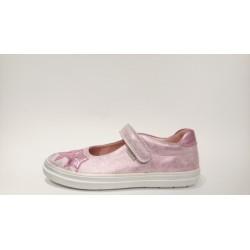 Richter Siesta 4411-541-3111 rózsaszín metálbőr lány balerina