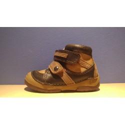 D.D.Step 038-215 chocolat fiú cipő