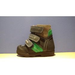 Szamos supinalt TEX-es kék 3tépős téli bélelt cipő