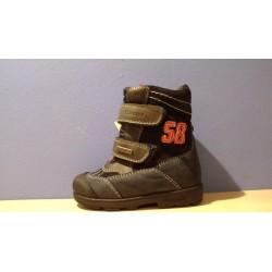 Szamos supinalt TEX-es 58-as kék téli bélelt cipő