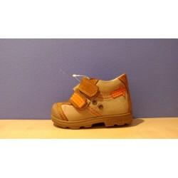 Szamos supinált barna narancs fiú cipő