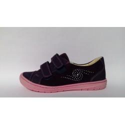 Szamos 6129-40895 lila átmeneti cipő