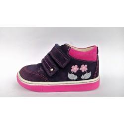 Szamos 1355-60625 lila pink átmeneti cipő