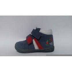 Szamos 1386-20036 kék elsőlépés átmeneti cipő