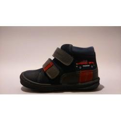 Szamos 1383-20036 kék autós átmeneti cipő
