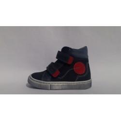 Szamos 1371-20016 kék átmeneti cipő
