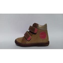 Szamos 1371-60584 beige pink átmeneti cipő