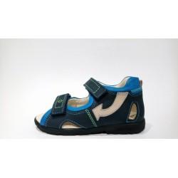 Szamos 4230-20709 supinált kék szandál
