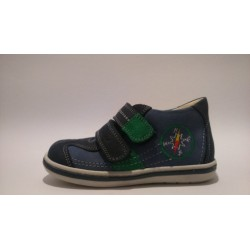 Szamos 1413-20266 kék átmeneti cipő