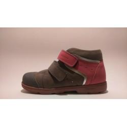 Szamos 1409-40749 supinált szürke pink átmeneti cipő