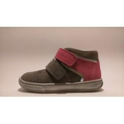 Szamos 1409-40286 szürke pink átmeneti cipő