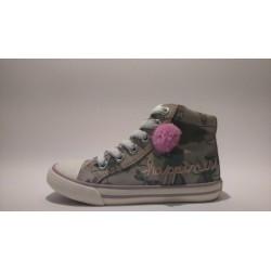 S.Oliver 5-35201-20  bézs fűzős cippzáros átmeneti cipő