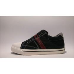 S.Oliver 5-54100-20-001 fekete fiú átmeneti cipő