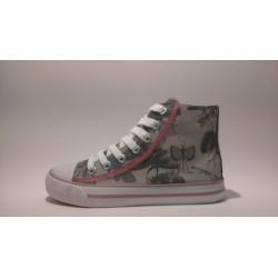 S.Oliver 5-45106-20 bézs fűzős cippzáros átmeneti cipő