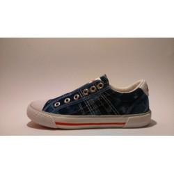 S.Oliver 5-44107-20 kék lány átmeneti cipő