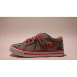 S.Oliver 5-33208-20 szürke pink lány átmeneti cipő