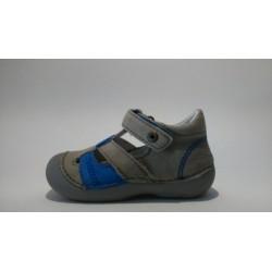 D.D.Step 015-149A szürke kék fiú szandálcipő