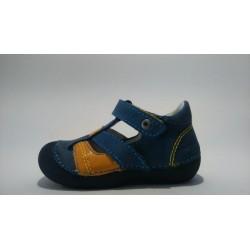 D.D.Step 015-149 kék fiú szandálcipő