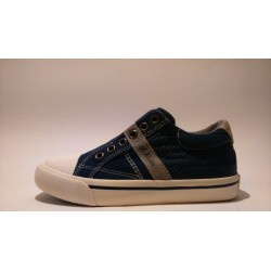 S.Oliver 5-44100-20-805 kék fiú átmeneti cipő