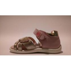 Gioseppo 44582 rózsaszín bokszbőr lány szandál