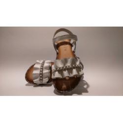 Gioseppo 45033 fehér bokszbőr lány szandál