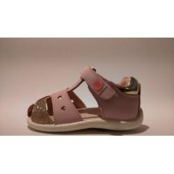 Gioseppo 44579 rózsaszín bokszbőr lány szandál
