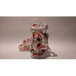 Gioseppo 43139 fehér vízálló lány gumi szandál