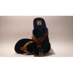 Gioseppo 40172 kék barna fiú papucs