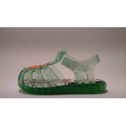 Gioseppo 43077 zöld vízálló gumi fiú szandál