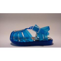 Gioseppo 43077 kék vízálló gumi fiú szandál