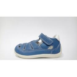 Primigi 1351544 kék bokszbőr fiú szandálcipő