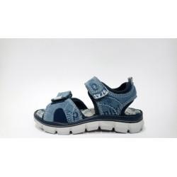 Primigi 1396411 kék sportos fiú szandál