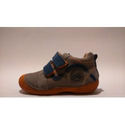 D.D.Step 015-151B szürke kék fiú átmeneti cipő